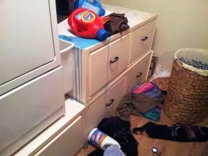 Laundry Room Mess