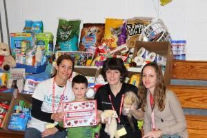 Kindergarteners Donate Over 620 Items to Needy Pets