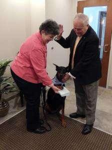 Bonny Lyttle, Pet Mayor Bella, Mayor Kelaher